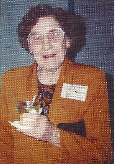 A picture of Barbara F. Nelson, born September 21, 1913 in Shawnee, OK and died December 13, 2010 in Collinsville, AL